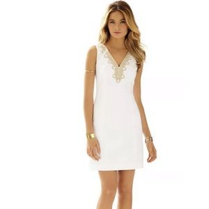 Lilly Pulitzer Bentley Shift Dress Resort White
